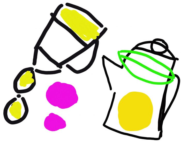 ilustración aceite
